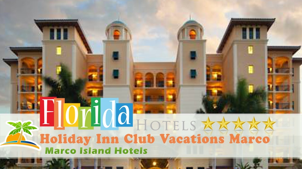 Holiday Inn Club Vacations Marco Island Sunset Cove Marco Island Hotels Florida
