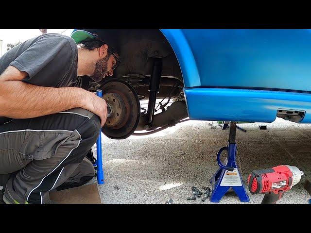 Cambio suspension trasera ☠︎+ Montaje Salpicadero con airbag💥  Bertone Project