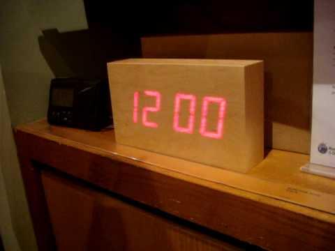 Wood Clock WTF?