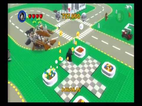 Lego Star Wars II Walkthrough [W7] Bonus Levels [E3] Lego City - YouTube