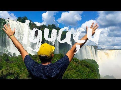 IGUAZU FALLS - BRASIL / ARGENTINA │GoPro Hero │Travel Video