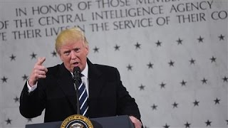 Trump Seeks to Smooth Tensions With CIA Visit