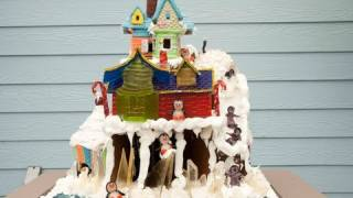 Cake Alchemy&#39s Gingerbread Creation at NYBG