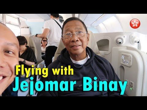 FLYING with JEJOMAR BINAY! | June 2nd, 2017 | Vlog #130