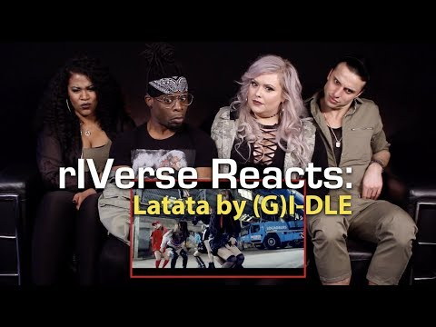 RIVerse Reacts: Latata By (G)I-DLE - M/V Reaction