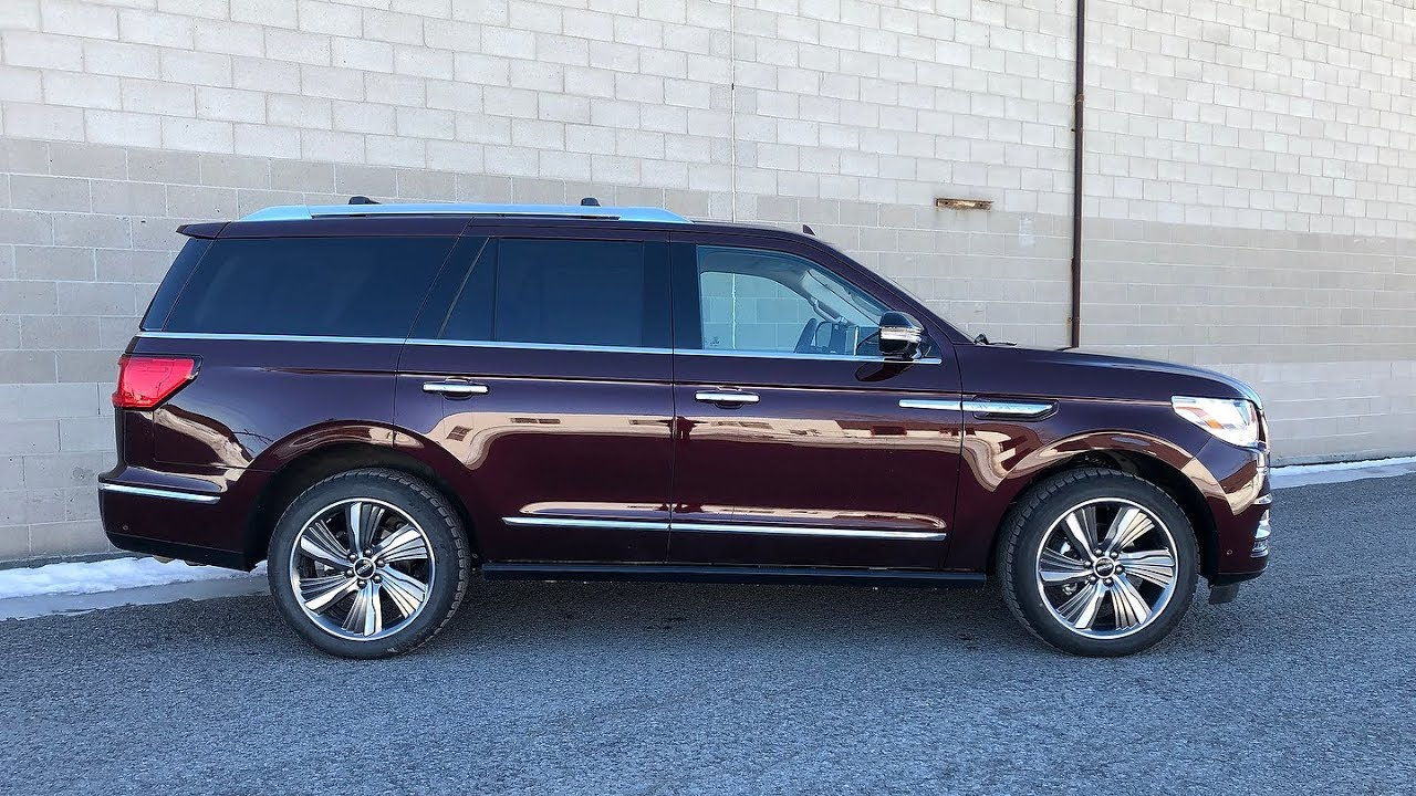 2019 Lincoln Navigator Review Youtube