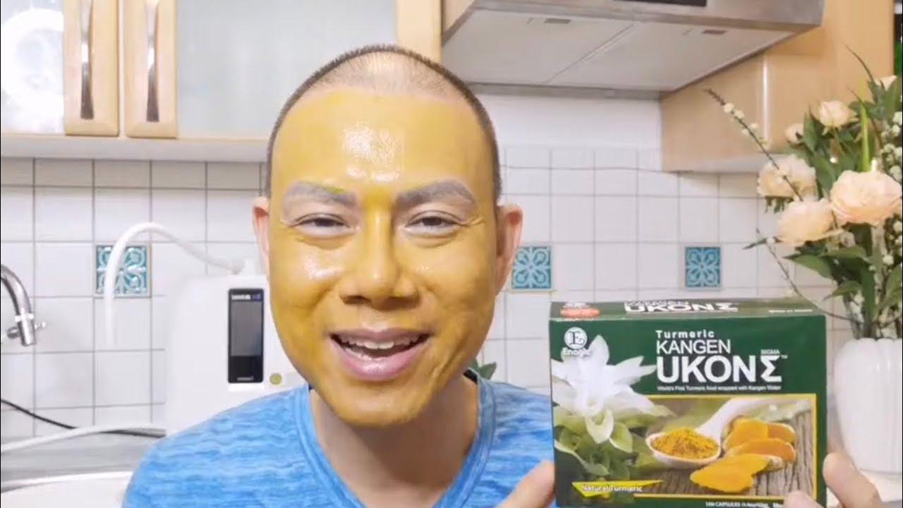 💪 Sức Khỏe   Làm Đẹp Da Mặt Với Nghệ Kangen Ukon   Van Phi Thông  