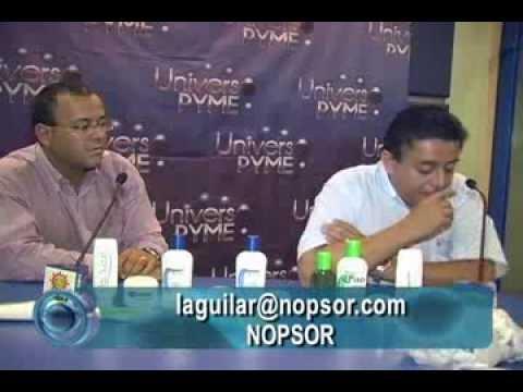 ENTREVISTA AL ING. LUIS AGUILAR TAPIA DE LA EMPRESA  NOPSOR
