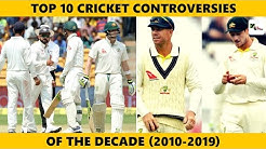 WATCH: These are the Top 10 Cricket Controversies of this decade