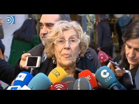 Manuela Carmena pide un pacto de izquierdas para formar Gobierno