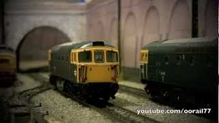 oorail.com | Heljan Class 33 / 33117 OO Gauge Model Railway Review