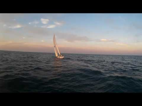 Athena Sunset Sail