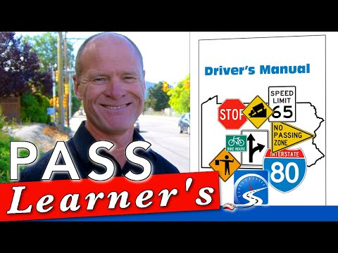 How to Pass a Driver's Learner's (Knowledge) Test