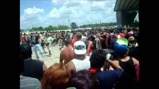 The Acacia Strain - Whoa! Shut It Down (Warped Tour 2011 @ Houston)