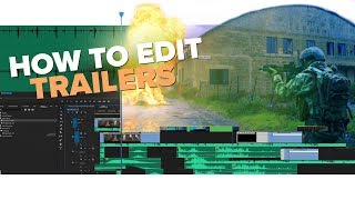 How To Edit Epic Trailers - LIVE