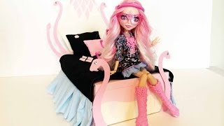 How To Make A Viperine Gorgon Doll Bed Tutorial/ Monster High