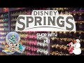Disney's Days of Christmas Shop With Me!!  at Disney Springs! All The Disney Christmas Ornaments!