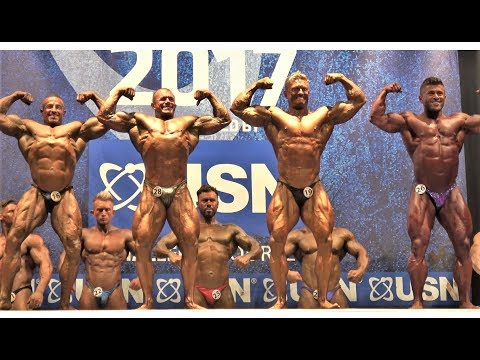 NABBA USN Britain Finals 2017 - Men 3