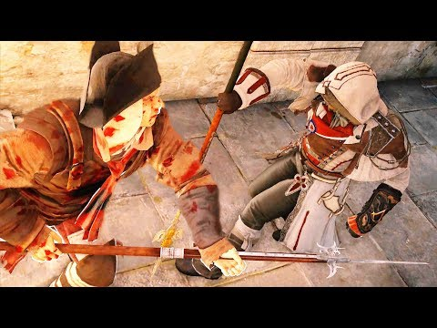 Assassin's Creed Unity Legendary Spear Killing Spree & Hidden Blade Stealth Takedowns