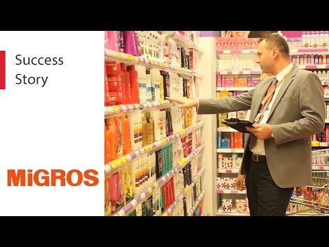 Migros Türk Uses Mobile Apps to Improve Their Store Operations
