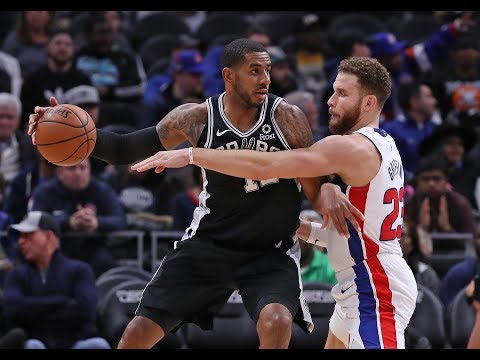 LaMarcus Aldridge vs. Blake Griffin Career Highlights