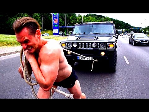 Ivan Drago Training In Europe ! Prank !