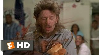 Pelted by Hot Dogs - Joe Dirt (7/8) Movie CLIP (2001) HD