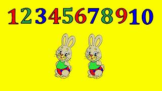 Учимся считать. Счет от 1 до 10. Развивающий мультфильм для детей.