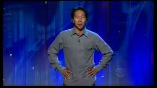 Observational comedy  from Comedian Henry Cho on The Late Late Show