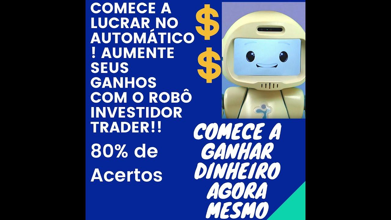robô investidor trader