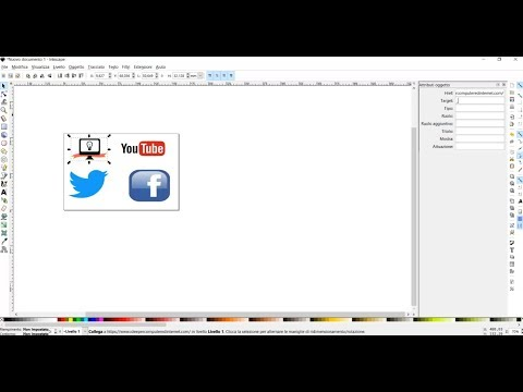 Creare immagini vettoriali svg con link a pagine web ipcei for Centrare un div