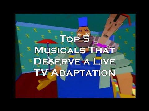 Top Five Musicals That Deserve a Live TV Adaptation--Know the Score