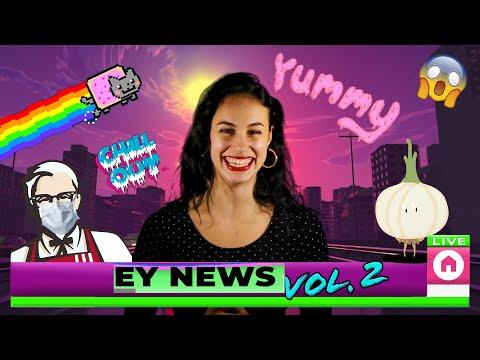 EY NEWS VOL.2 | СВЕЖИЕ НОВОСТИ ФЕВРАЛЯ | ТОП МУЗЫКИ И ФИЛЬМОВ | ГОДНЫЕ МЕМЫ