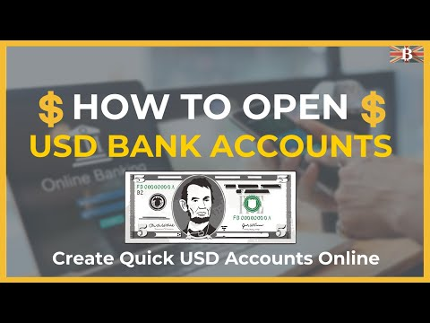 How To Open USD Bank Account