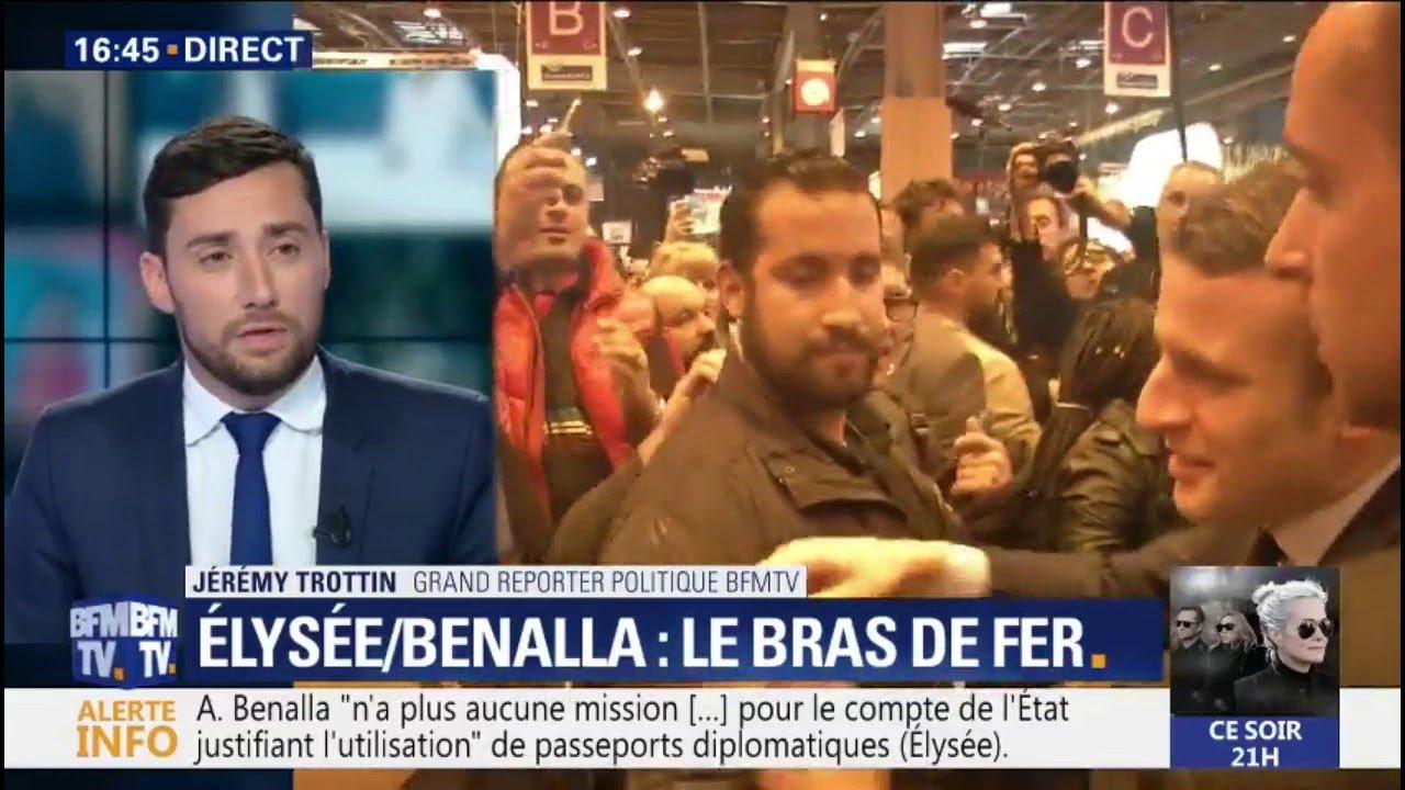 Les proches d'Alexandre Benalla assurent qu'il n'a pas menti devant le Sénat