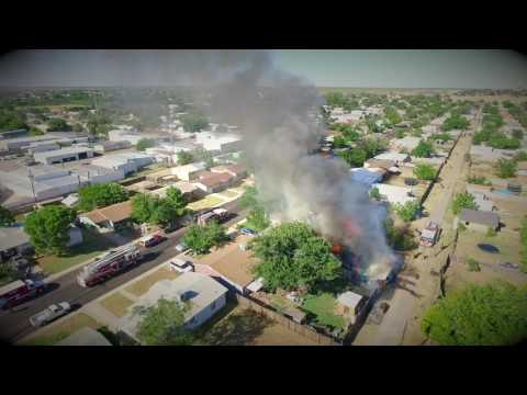 Odessa Texas House Fire August 4, 2016
