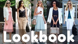 Business Outfits / Office Style Ideas Summer 2018 | Work Fashion Lookbook