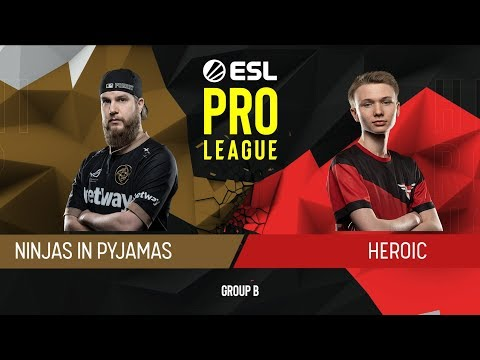 CS:GO - NiP vs. Heroic [Train] Map 2 - Group B - ESL Pro League Season 9 Europe thumbnail