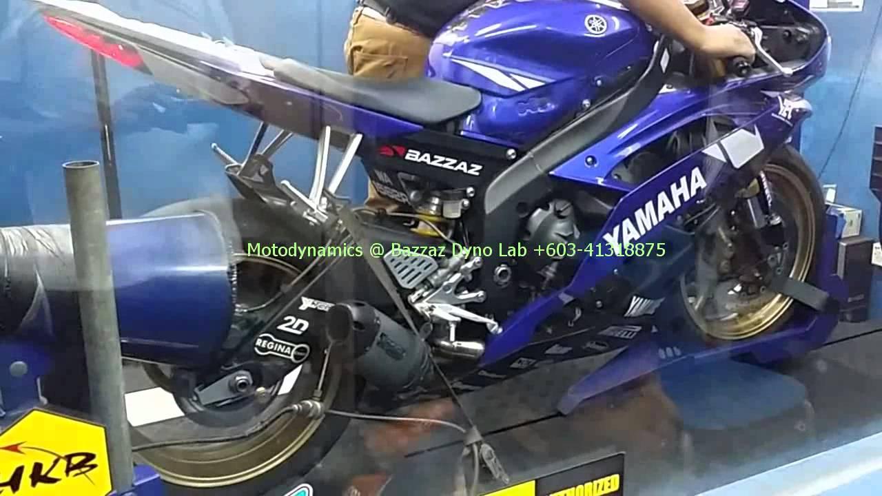 Yamaha YZF R6 Installed Bazzaz ZFi Dyno Tuning
