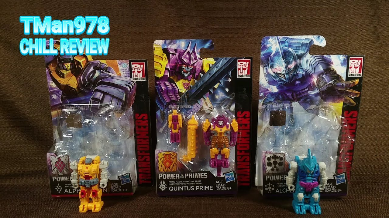 Transformers Generations Power of The Primes Prime Master Alpha Trion Figure