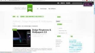 Download Zedge Ringtones & Wallpapers 2.5 Android Full version Free!