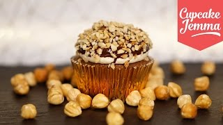 Ferrero Rocher Christmas Cupcakes   Cupcake Jemma