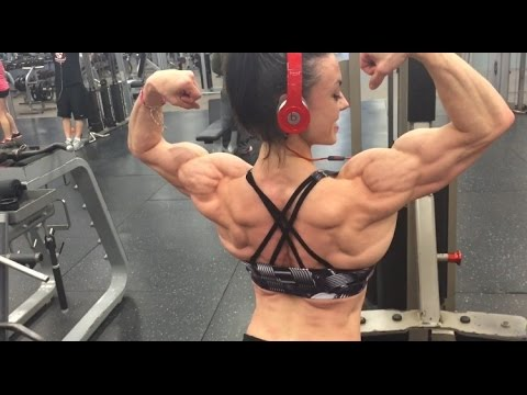 Training Back - 1 week out from the 2016 IFBB TorontoPRO