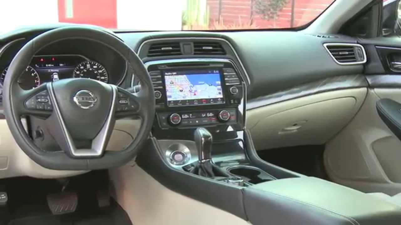 2016 Nissan Maxima Platinum Edition Interior Design Trailer