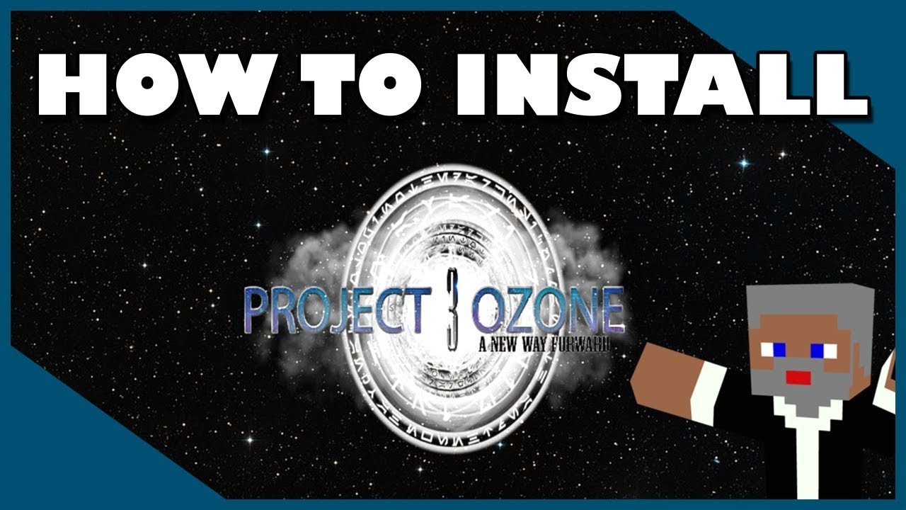 How To Install Project Ozone 3 MODPACK | Twitch Desktop App