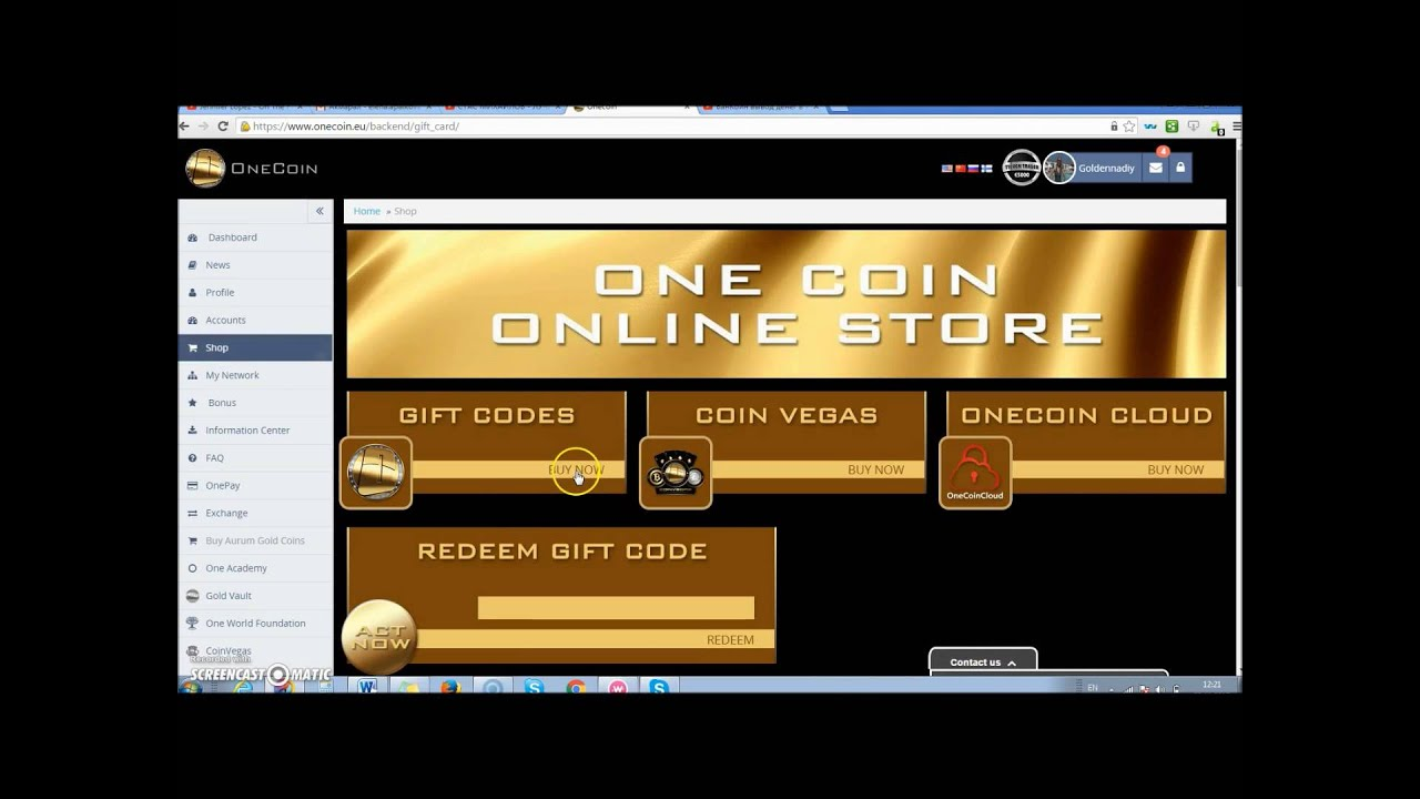 How to withdraw money from cash accountt in onecoin