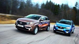 Лада Xray Против Renault Sandero Stepway