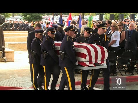 Honor guard ceremony, final radio call given to Officer Michael Krol