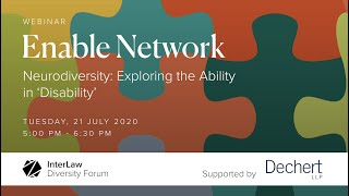 Neurodiversity: Exploring the 'Ability' in Disability