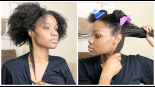 Natural Hair Pre-Poo Growth Hack Using Horsetail Tonic PLUS Length Check | Elise